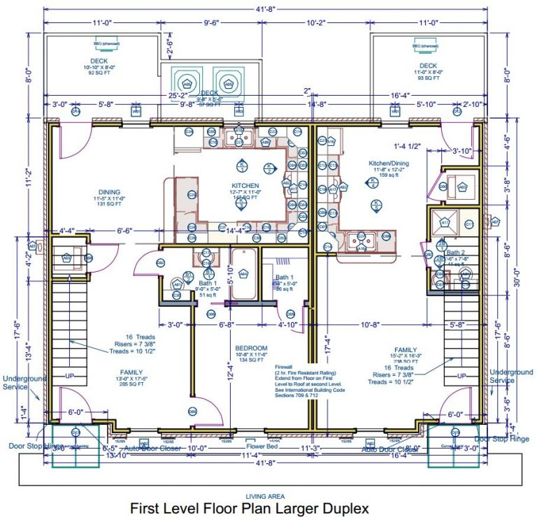 1st Floor - Delacroix Plantation Townhomes - Natchitoches Louisiana