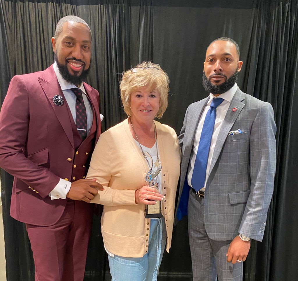 Janie Cherry receives Benevolent Award